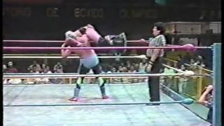 WWC: Gama Singh vs. Blue Angel (1990)