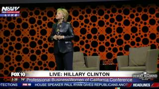 WATCH: Hillary Clinton Speaks at Professional Business Women of California Conference (FNN)
