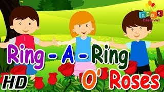 Ringa Ringa Roses - Nursery Rhymes | Play School Songs | Easy To Learn