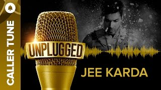 "Set ""Unplugged Jee Karda"" as Your Caller Tune   Divya Kumar"