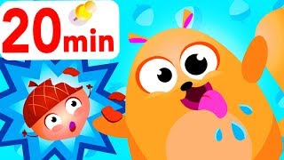 Where Are My Acorns? Crazy Chipmunk Dance, Apples and Bananas, Peekaboo by Little Angel