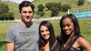Mila Kunis & Ashton Kutcher Make Surprise Appearance on 'The Bachelorette': Watch!