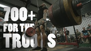 700 Pound Lift For The Marines