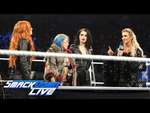Xxx Mp4 Becky Lynch Charlotte Flair Amp Asuka Make Their TLC Match Official SmackDown LIVE Dec 4 2018 3gp Sex