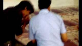 kissing our teacher