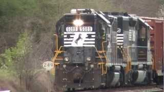 Moving On The Central of Georgia Line 3-9-12.mpg