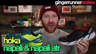 HOKA ONE ONE NAPALI & NAPALI ATR REVIEW | The Ginger Runner