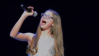 All By Myself - live cover by Mia Negovetic (13y)