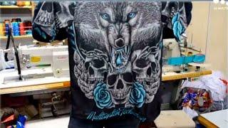 Sublimation printing on sports wear, print & stitch, Full t shirt / t-shirt