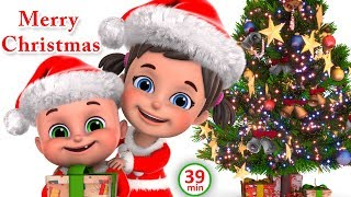 Christmas Songs for kids | We Wish You a Merry Christmas | Nursery rhymes collection from jugnu kids