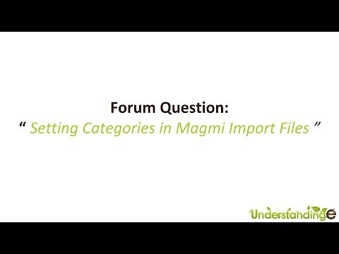 Setting Magmi to Create or Set Categories on CSV Import to Magento