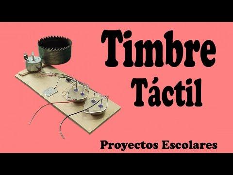 Cómo Hacer un Timbre Táctil Casero muy fácil de hacer