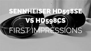 Initial Impressions: Sennheiser HD598 Closed vs. HD598 SE Open Headphones