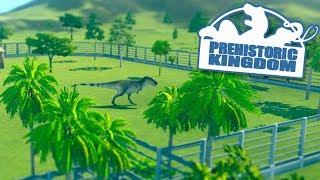 JURASSIC WORLD SIMULATOR!!! - Prehistoric Kingdom   Part 1