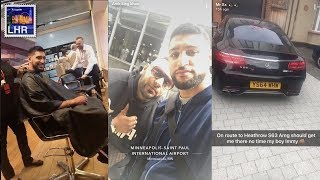 AMIR KHAN Travels To United States AND Meets WIFE JUST AFTER Divorce With Faryal Makhdoom!