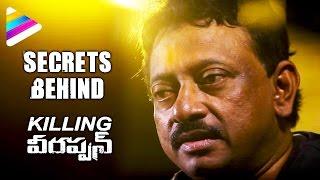 Secrets Behind Killing Veerappan | RGV Exclusive Interview | Ram Gopal Varma | Telugu Filmnagar