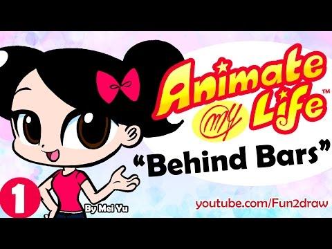 Animate My Life Artist BEHIND BARS Funny animation