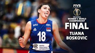Powerful Spiker by Tijana Bošković l Serbia Volleyball World Championship 2018 Finals