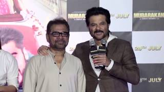 Mubarakan Official Trailer Launch Anil Kapoor, Arjun Kapoor, Ileana D'Cruz, Athiya Shetty