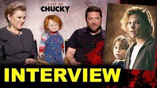Cult of Chucky Interview - Alex Vincent & Christine Elise