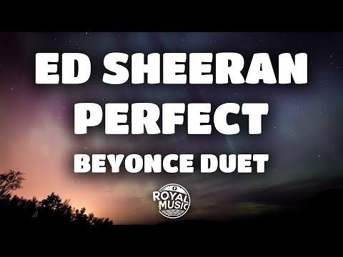 Ed Sheeran, Beyoncé - Perfect Duet (Lyrics / Lyric Video)