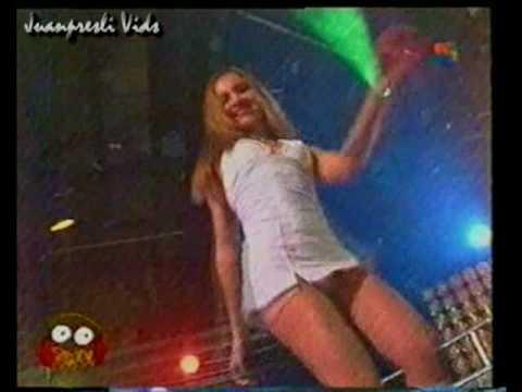 Liliana Contreras muy hot en Siempre Sabado