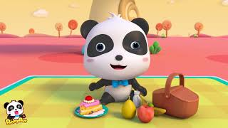 Baby Panda Goes Outside |  Kids Outdoor Activities| Animation Collection For Babies | BabyBus