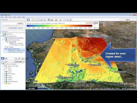 SolarGIS maps and data for Google Earth (Jun 2013) - full overview
