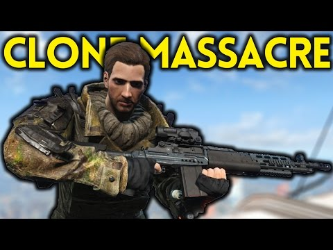 Fallout 4 - CLONE MASSACRE - Tales from the Commonwealth Part 5