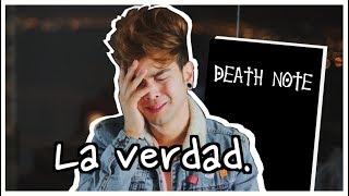 MI HONESTA OPINION SOBRE DEATH NOTE LA PELICULA - Juan Pablo Jaramillo