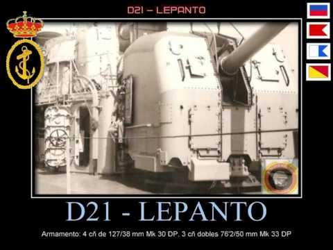 DESTRUCTOR D21 LEPANTO