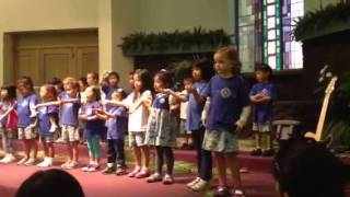 Toyha's chapel performance @ school