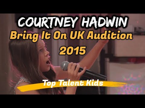 Xxx Mp4 🌟 COURTNEY HADWIN 🌟 Courtz 10yo Bring It On UK Audition 3gp Sex