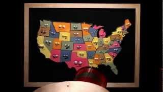 States and Capitals Song by Musical Stew