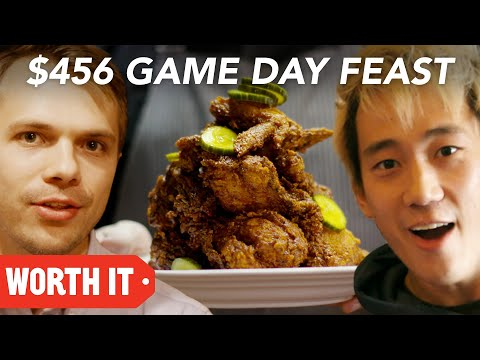 10 Game Day Food Vs. 456 Game Day Food • Super Bowl 2018