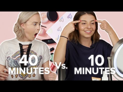 Long Vs. Short Makeup Routines