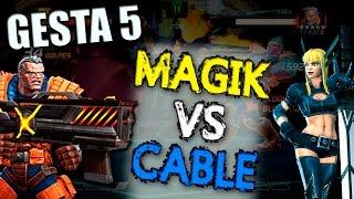 Magik vs Cable   MiniBoss 2, Gesta 5 - Marvel Contest of Champions