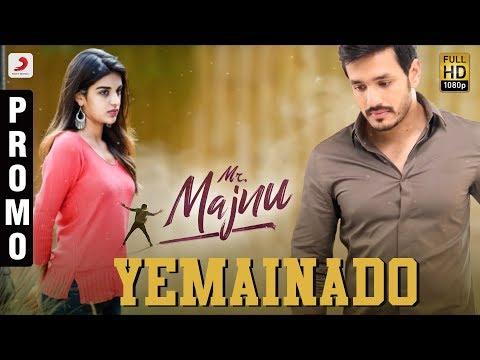 Xxx Mp4 Mr Majnu Yemainado Song Promo Telugu Akhil Akkineni BVSN Prasad Thaman S Venky Atluri 3gp Sex
