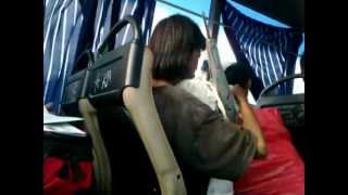 Crazy woman on a bus (Literally)