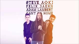 Steve Aoki - Can't Go Home LYRICS (feat Felix Jaehn, Adam Lambert ) LYRICS
