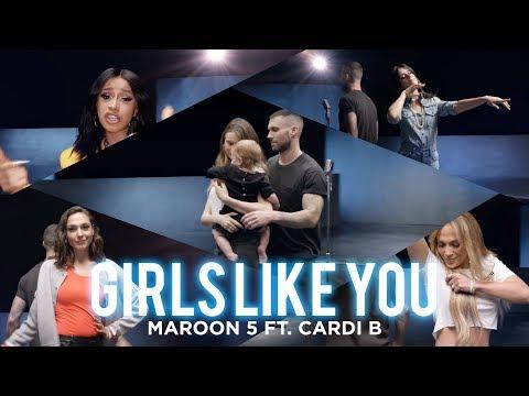 [Vietsub] Girls Like You - Maroon 5 ft. Cardi B