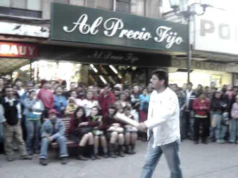 El indio y los hermanos del flaco en Concepción.