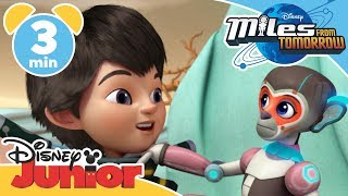 Miles from Tomorrow | Robot Monkey Business | Disney Junior UK