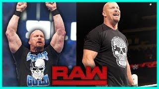 WWE BREAKING NEWS: STONE COLD STEVE AUSTIN EXPLAINS HIS FEELINGS ON RETURNING TO THE RING