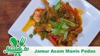 Jamur Asam Manis Pedas Feat Annisa Wibi