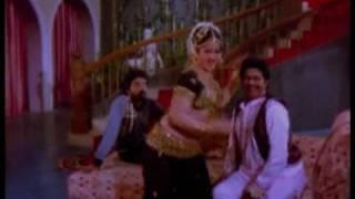 Jayamalini mujra in black ghagra-choli
