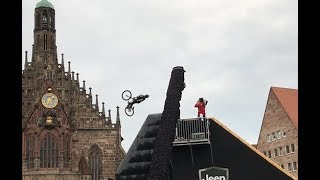Red Bull District Ride 2017 - Nicholi Rogatkin Cork 1440 First Try
