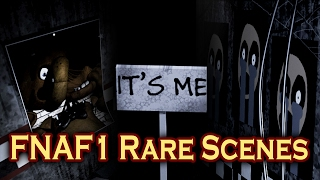 FNAF - ALL RARE SCENES caught on Camera!