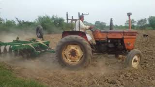 Old Fiat 480 single liver Tractor 1973 model