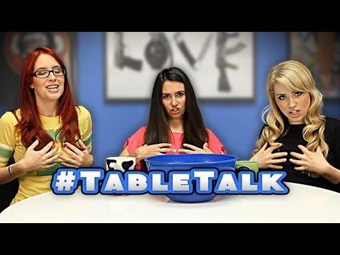 Table Talk LADY TALK Blonde Brunette or Redhead & Facial Hair On Men